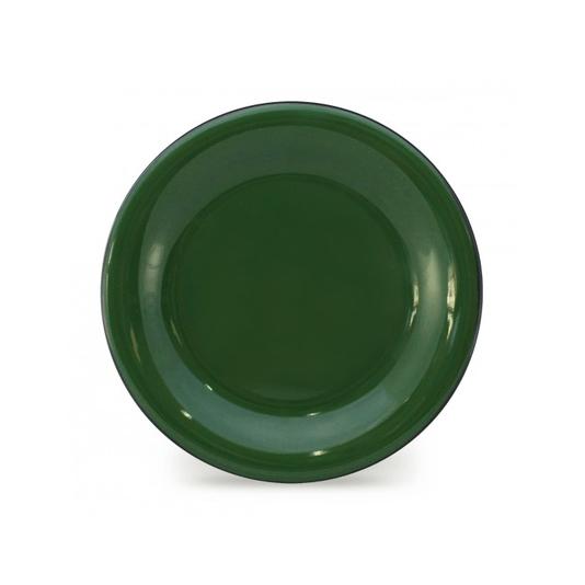 Prato Esmaltado para sobremesa - nº 20 - Verde - 250 ml (EWEL)