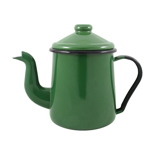 Cafeteira Esmaltada Tradicional - nº 12 - Verde - 1100 ml (EWEL)