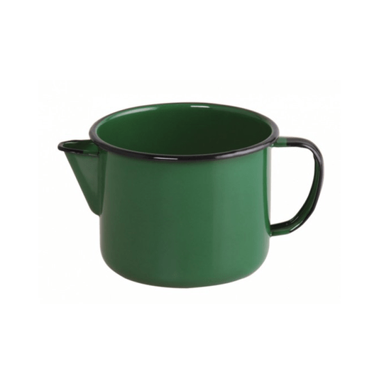 Caneca Esmaltada com Bico - nº 12 - Verde - 1000 ml (EWEL)