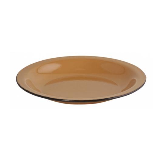 Prato Esmaltado Raso - nº 26 - Marrom - 700 ml (EWEL)