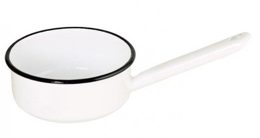 Papeiro Esmaltado Branco com Cabo Esmaltado - EWEL