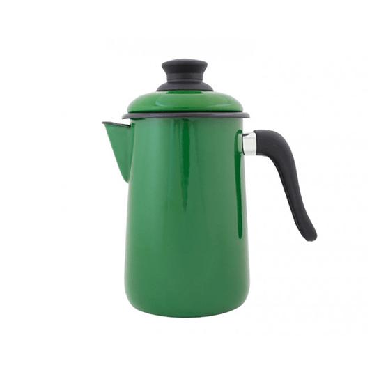 Bule para Café Esmaltado - nº 14 - Verde - 1500 ml (EWEL)