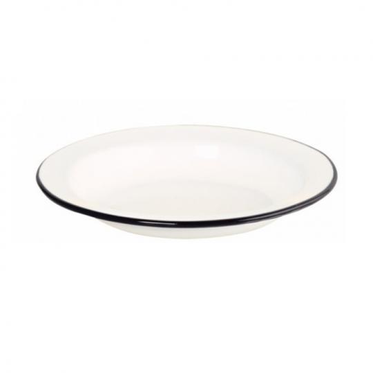 Prato Esmaltado - nº 22 - Branco - 560 ml (EWEL)