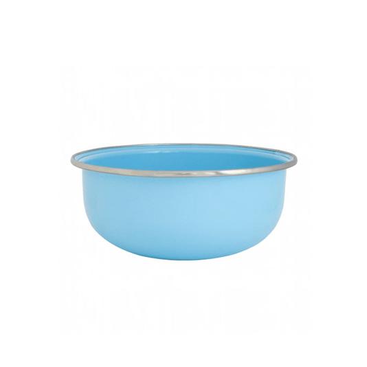 Tigela Esmaltada Azul Claro - EWEL