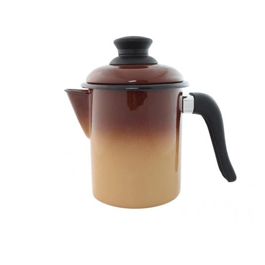 Leiteira Esmaltada - nº 10 - Marrom - 900 ml (EWEL)