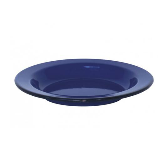 Prato Esmaltado Fundo - nº 22 - Azul - 500 ml (EWEL)