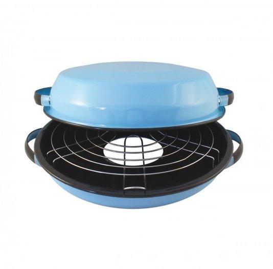 Churrasqueira Esmaltada para fogão - nº 28 - Azul Claro (EWEL)