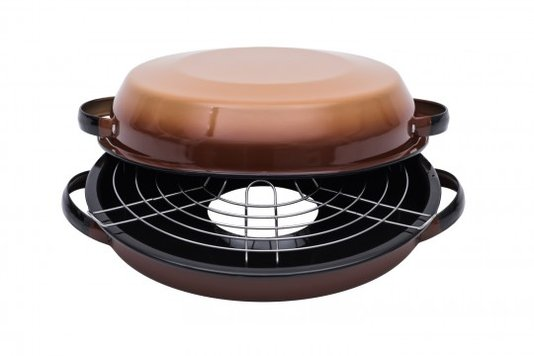 Churrasqueira Esmaltada para fogão - nº 28 - Marrom (EWEL)