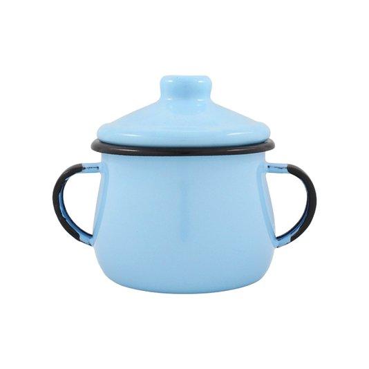 Açucareiro Esmaltado - n° 8 - Azul Claro - 380 ml (EWEL)