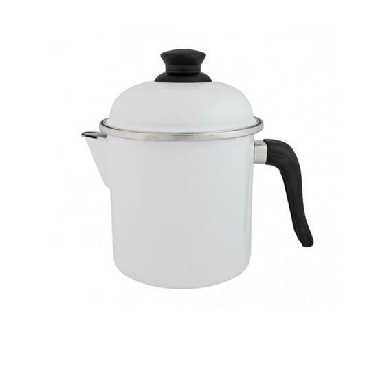 Leiteira Esmaltada - nº 16 - Branca - 1800 ml (EWEL)