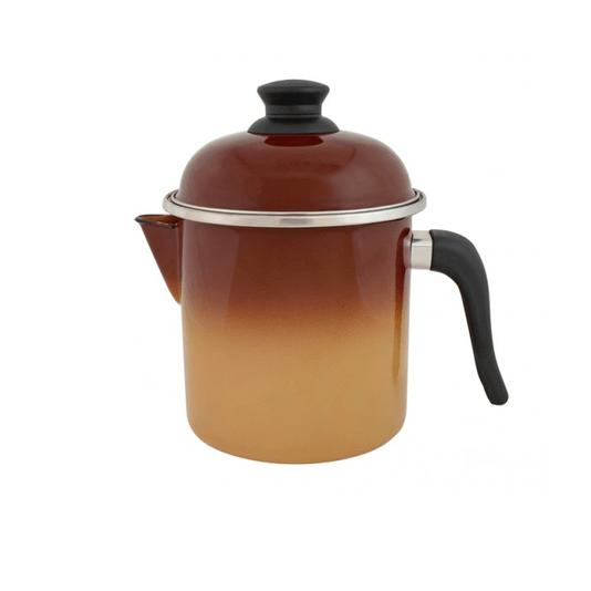 Leiteira Esmaltada - nº 16 - Marrom - 1800 ml (EWEL)