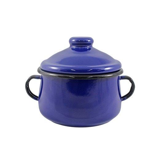 Açucareiro Esmaltado - nº 10 - Azul - 500 ml (EWEL)