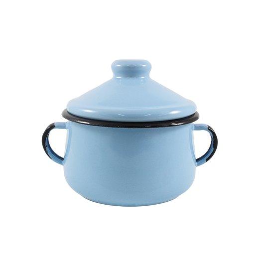 Açucareiro Esmaltado - nº 10 - Azul Claro - 500 ml (EWEL)