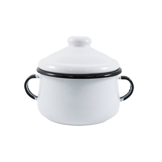 Açucareiro Esmaltado - nº 10 - Branco - 500 ml (EWEL)