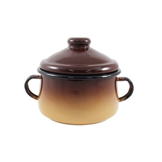 Açucareiro Esmaltado - nº 10 - Marrom - 500 ml (EWEL)