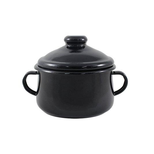 Açucareiro Esmaltado - nº 10 - Preto - 500 ml (EWEL)