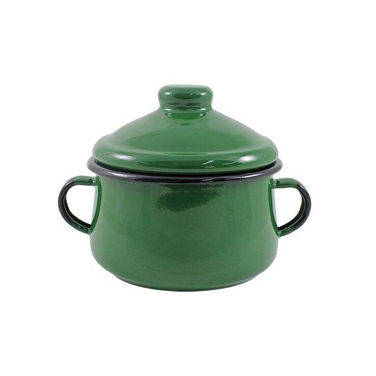 Açucareiro Esmaltado - nº 10 - Verde - 500 ml (EWEL)