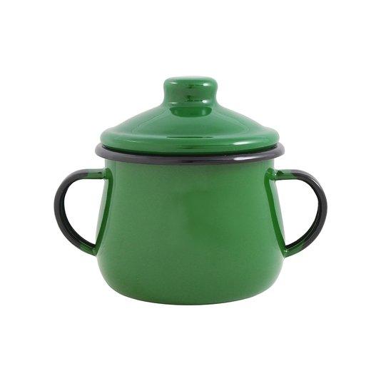 Açucareiro Esmaltado - n° 8 - Verde - 380ml (EWEL)