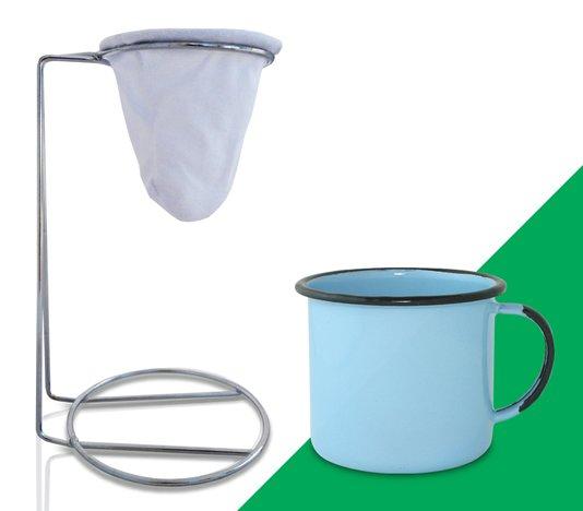 Kit Meu Café - Azul Claro