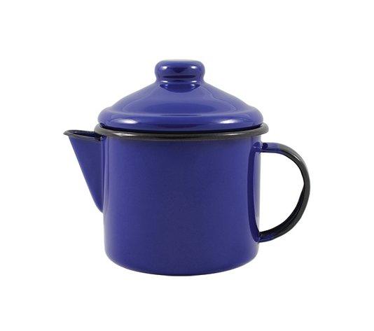 Bule para Chá Esmaltado - nº 10 - Azul - 600 ml (EWEL)