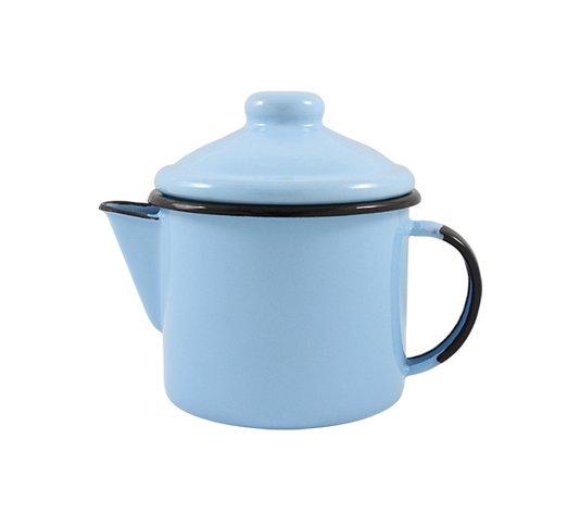 Bule para Chá Esmaltado - nº 10 - Azul Claro - 600 ml (EWEL)