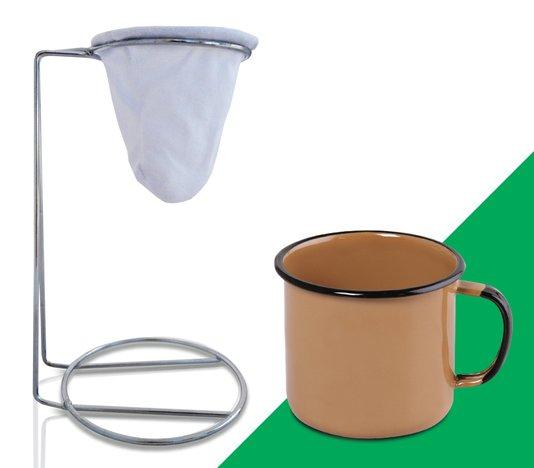Kit Meu Café - Marrom
