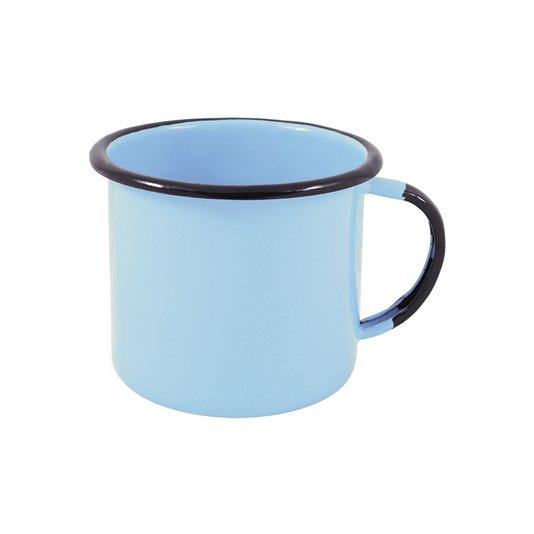 Caneca Esmaltada Azul Claro - EWEL
