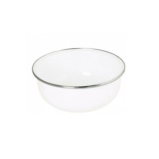 Tigela Esmaltada Branca - EWEL