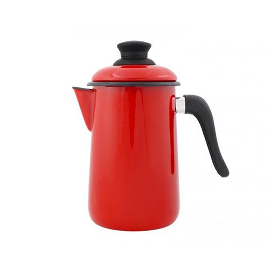 Bule para Café Esmaltado - nº 14 - Vermelho - 1500 ml (EWEL)