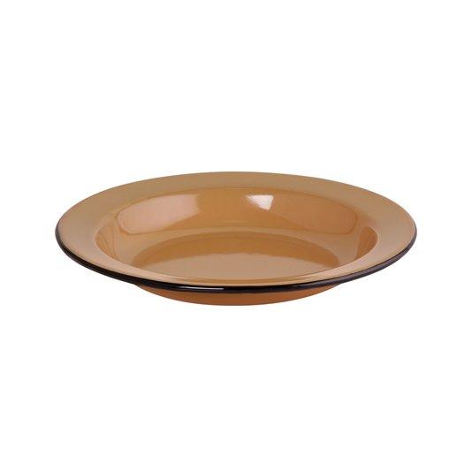 Prato Esmaltado Fundo - nº 22 - Marrom - 500 ml (EWEL)