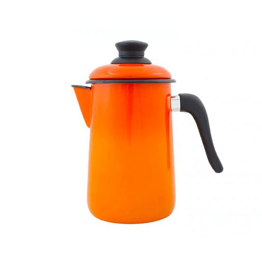 Bule para Café Esmaltado - nº 14 - Laranja - 1500 ml (EWEL)
