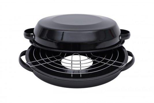 Churrasqueira Esmaltada para fogão - nº 28 - Preta (EWEL)