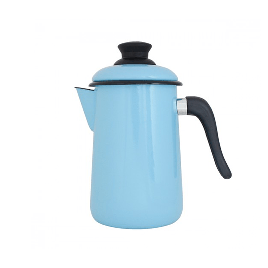 Bule para Café Esmaltado - nº 14 - Azul Claro - 1500 ml (EWEL)