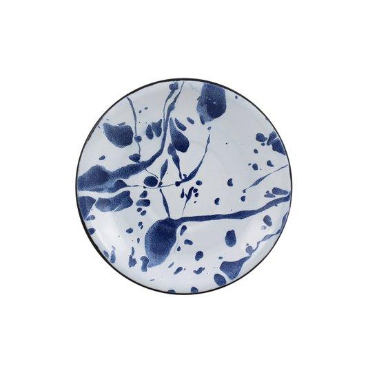 Pires Esmaltado - Azul – Para Caneca / Xícara Esmaltada - EWEL Coleção Marmorizada