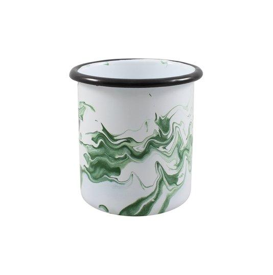 Porta Canetas Verde - EWEL Coleção Marmorizada