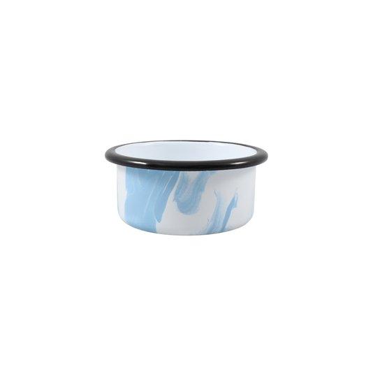 Porta Clipes Azul Claro - EWEL Coleção Marmorizada