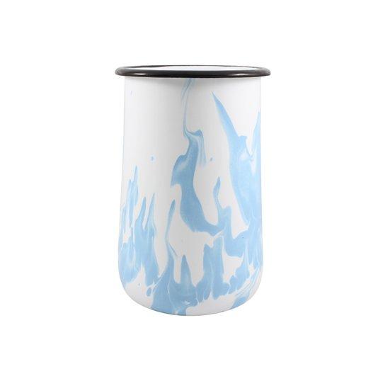 Porta Utensílios G - Azul Claro (EWEL Coleção Marmorizada)