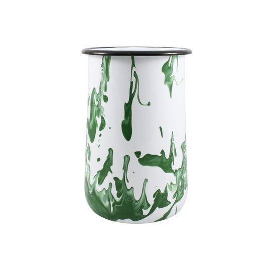Porta Utensílios G - Verde (EWEL Coleção Marmorizada)