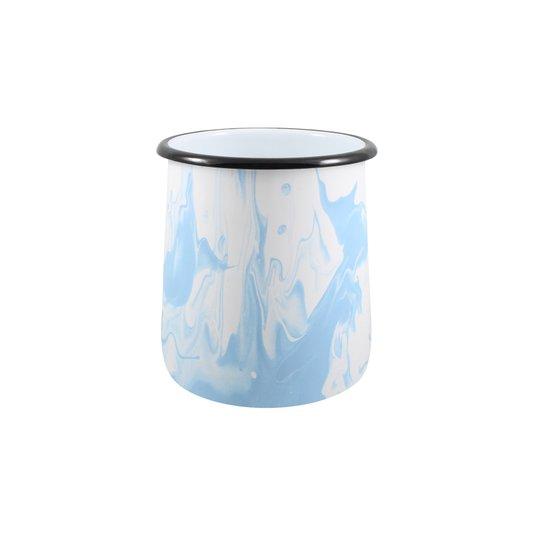 Porta Utensílios P - Azul Claro (EWEL Coleção Marmorizada)