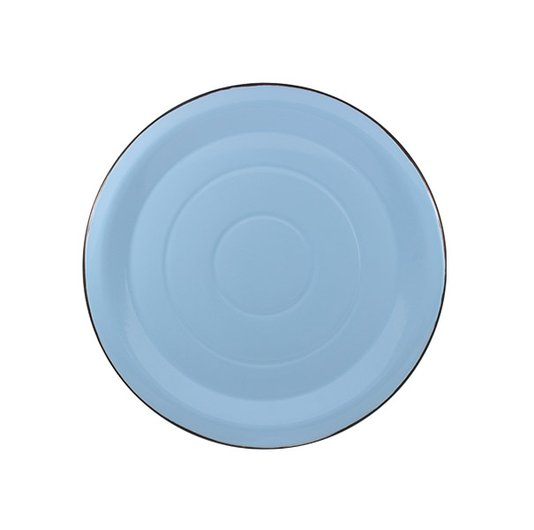 Prato Esmaltado para bolo Azul Claro - EWEL