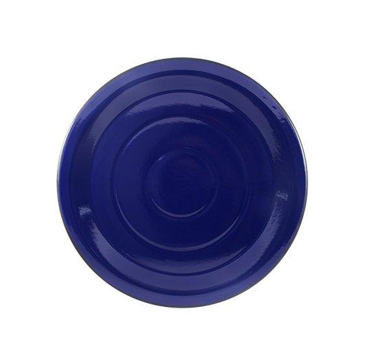Prato Esmaltado para bolo Azul - EWEL