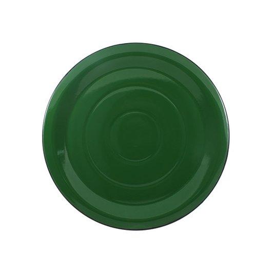 Prato Esmaltado para bolo Verde - EWEL
