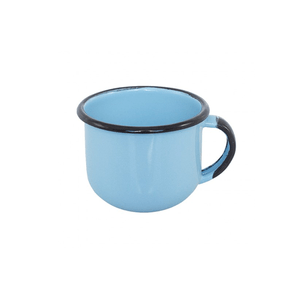 Xícara Esmaltada Azul Claro - EWEL