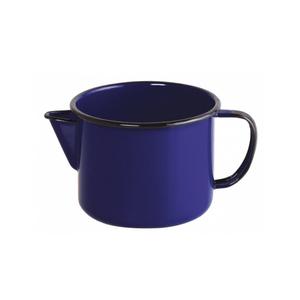 Caneca Esmaltada com Bico - nº 12 - Azul - 1000 ml (EWEL)