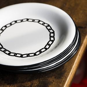 Prato Esmaltado para Sobremesa - nº 20 - Branco Corrente - 250ml (À LA Garçonne + EWEL)