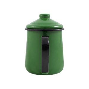 Leiteira Esmaltada Tradicional - nº 12 - Verde - 1000 ml (EWEL)