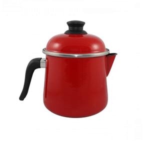 Leiteira Esmaltada Bojuda - nº 16 - Vermelha - 2000 ml (EWEL)
