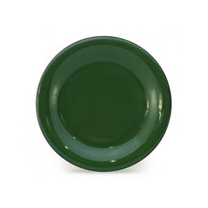 Prato Esmaltado Raso - nº 26 - Verde - 900 ml (EWEL)