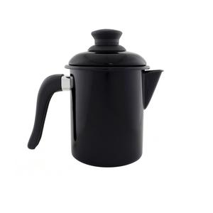 Leiteira Esmaltada - nº 10 - Preto - 900 ml (EWEL)
