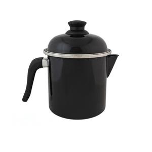 Leiteira Esmaltada - nº 16 - Preta - 1800 ml (EWEL)